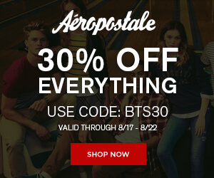 30% Off Everything at Aeropostale