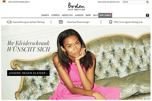 Boden gutschein 10 sale september 2016 for Boden versand mode