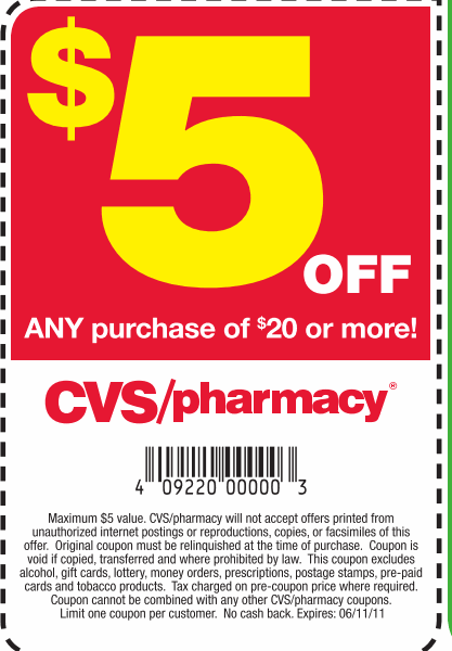 Cvs Pharmacy Coupons >> CVS Coupons: Save $22 w/ 2015 Coupons & Deals