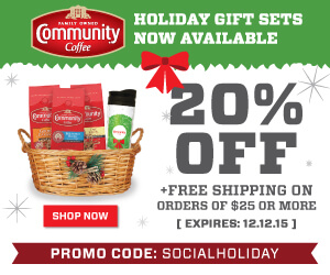 20% Off Community Coffee