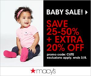 Macy's Baby Sale