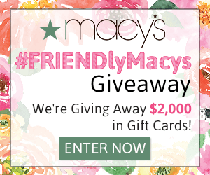 Macy's $2,000 Giveaway