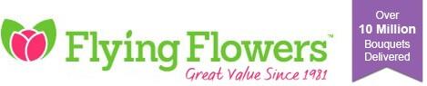 Flying Flowers Logo