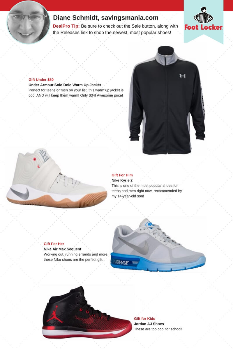 Foot Locker Gift Guide