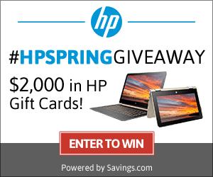 $2,000 #HPSpringGiveaway