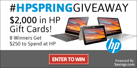 What would you buy with an extra $250 to spend at HP.com? Enter now to win a gift card, plus learn how to save $15 off your $75 purchase today! # #HPSpringGiveaway