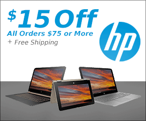 Get 15% Off at HP