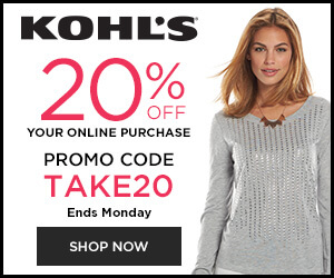 And through September 4th, everyone gets $10 Kohl's Cash for every $50 spent in store, online, at a Kohl's Kiosk or with the Kohl's App on all sale, clearance and regular priced merchandise! This Cash will be redeemable September 7th – 13th.