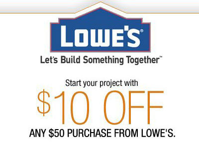 Lowe's Coupon Code