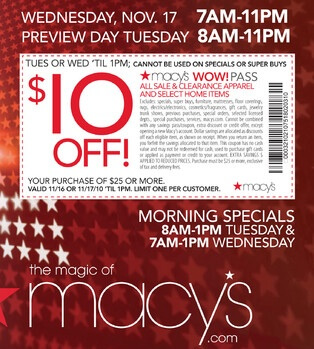 Macys Coupons: Save $29 w/ 2013 Coupon Codes & Promo Codes