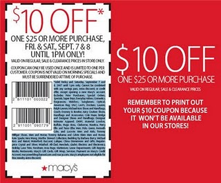Macys coupons