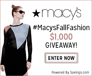 Macys $1,000 Giveaway
