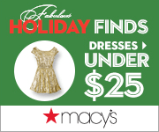 Macys Dresses Under25 180x150 Macys One Day Sale November 2014: Thanksgiving Sale