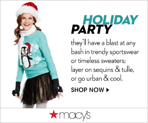Macys Holiday Party 300x250 Macys Friends and Family Sale Dates 2014