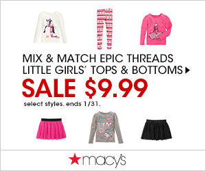 Macys MixMatch Girls 300x250 Macys One Day Sale November 2014: Thanksgiving Sale
