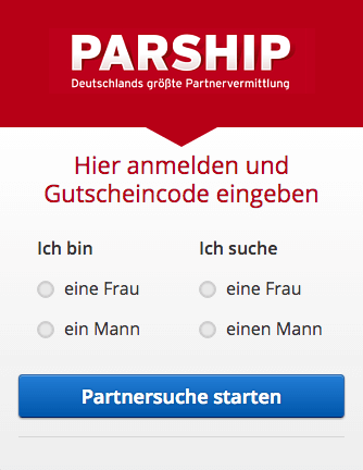 parship gutschein code