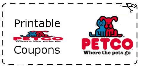 Petco Printable Coupon 2014