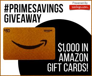 PrimeSavings Giveaway