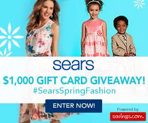 SearsSpringFashion Giveaway