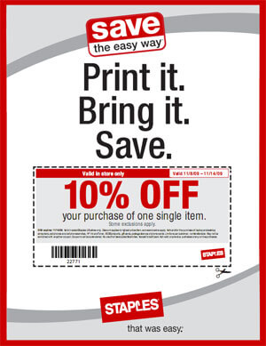 Staples Offers Everyday Low Prices And Free Shipping For Rewards Members