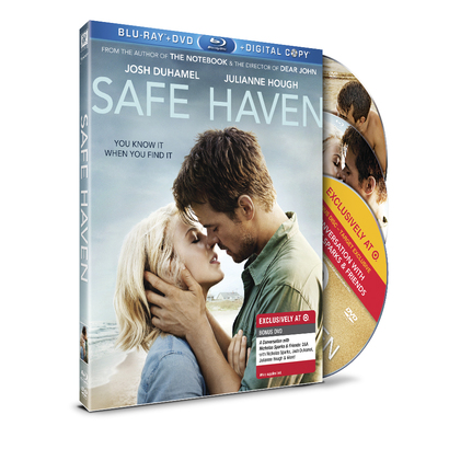 "Save $2 off ""Safe Haven"" DVD or Blu-Ray"