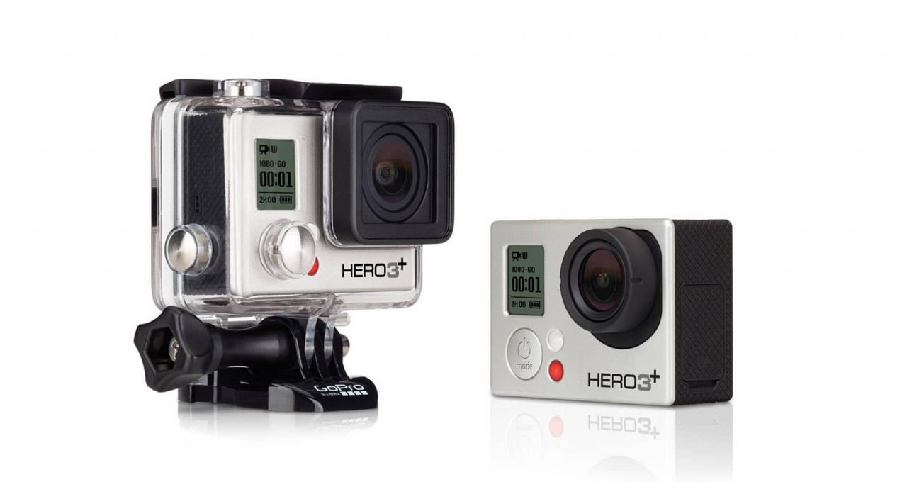 Free 16GB Memory Card on GoPro Hero3+ Silver Action Cam+Free Shipping