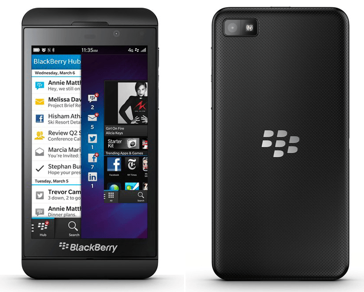 Free Blackberry Z10 with 2 Year Contract + Free Shipping