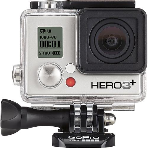 $50 Giftcard + Free Shipping on GoPro HERO3+ Silver, now $299.99
