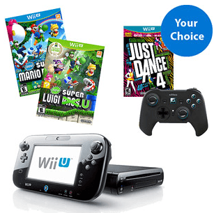 $30 off + Free Shipping on Wii U Holiday Bundle: $329