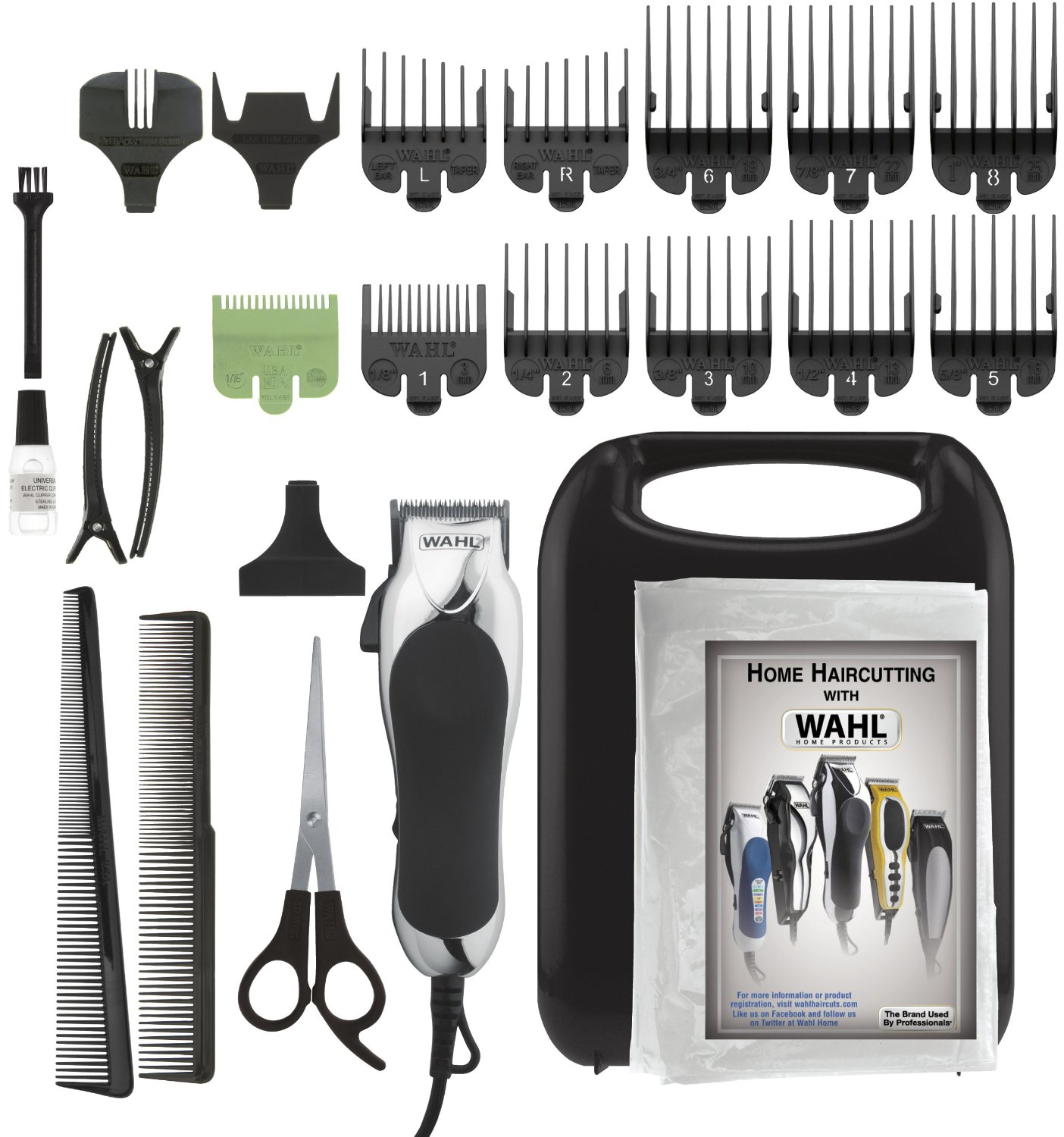 Save $3 on Wahl Soft Touch Chrome Pro Haircut Kit + Free Shipping