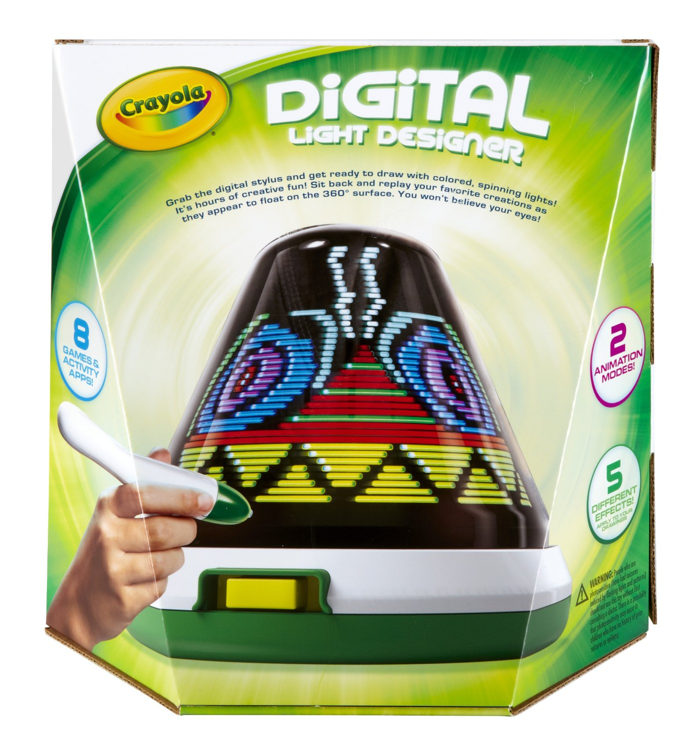 Save 20% on Crayola Digital Light Designer