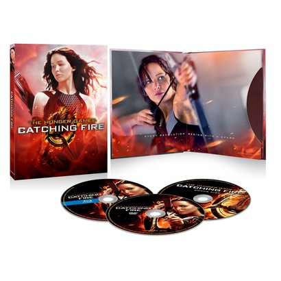 "Order ""Hunger Games: Catching Fire"" DVD/Blu-Ray Get Free Poster + More"
