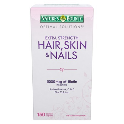Save $1 on Optimal Solutions Extra Strength Hair-Skin & Nails