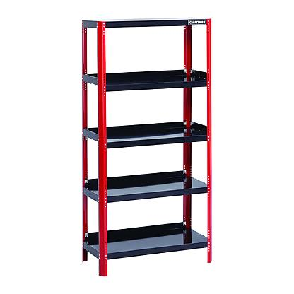 48% off Craftsman 36in Wide Steel Shelving Unit - $73.19