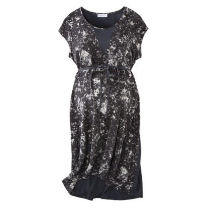 50% off Liz Lange Maternity Short-Sleeve Fashion Dress, Now $11.48