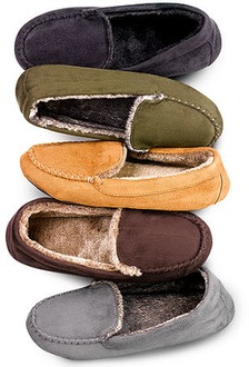$12.67 off Isotoner Slippers with Faux Fur - $12.99