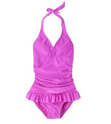 Save 20% on Girls' 1-Piece Skirted Swimsuit