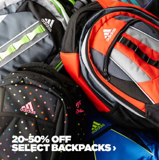 20-50% off Back to School Backpacks