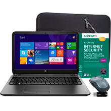 "$89.96 off HP 15.6"" Laptop Essentials Bundle + Free Shipping"
