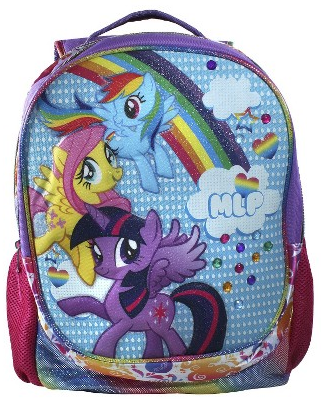 "40% off My Little Pony Rainbow Drops Light up 16"" Backpack"