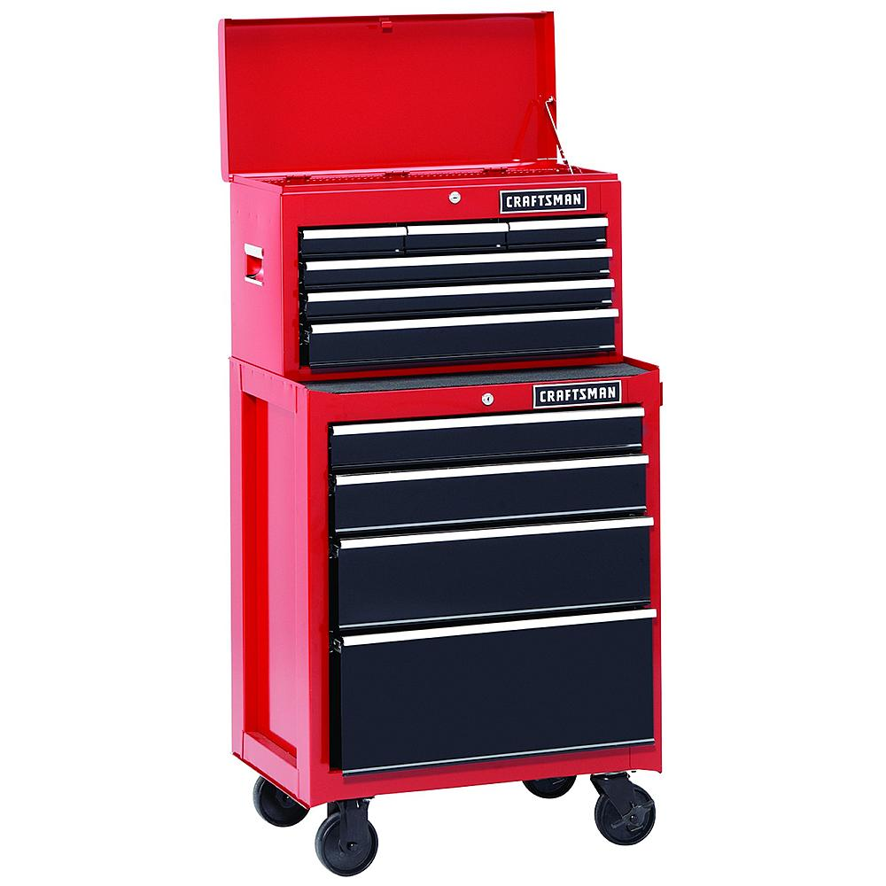 50% off Craftsman 26in 10 Drawer Toolbox Combo Set + Free Shipping
