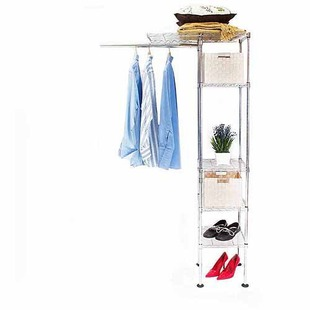 32% off Expandable Single Tower Closet Organizer + Free Shipping