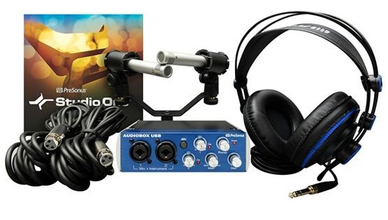 $100 off Presonus AudioBox Stereo Recording Bundle + Free Shipping