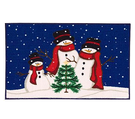 62% off Holiday Door Mat with Free In Store Pickup