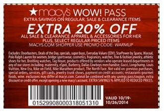 Printable: Extra 20% off Women's Apparel & Accessories