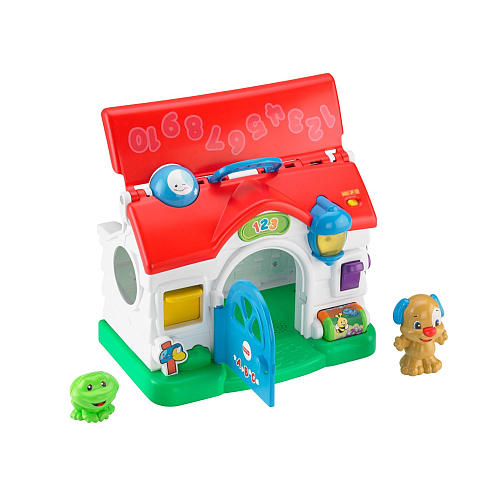 $5 off Fisher-Price Laugh & Learn Puppy's Activity Home - $19.99
