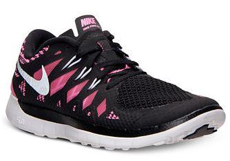 41% off Nike Girls' Free 5.0 2014 Running Sneakers
