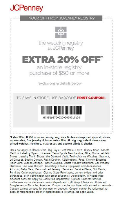 In-Store:Extra 20% off Orders $50+ Apparel, Shoes, Accessories & More