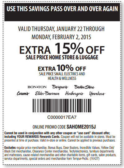 Printable: Extra 10% off Sale Small Electrics & Health and Wellness