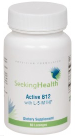 20% off Active B12 Lozenge With L-5-MTHF - 60 Lozenges